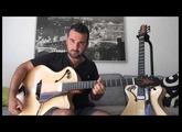 """Guitare Archtop 16"""" & 17"""" Echo d'Artistes (part 2)"""
