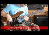 Fender P Bass Walnut Finish 1976 DEMO