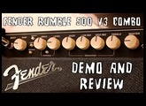 Fender Rumble 500 V3 Combo Bass Amp Demo & Review
