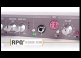 AEA RPQ2: High-Gain, High-Impedance Preamp with CurveShaper™ EQ & DI