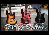 Harley Benton Basses - Review (JB-40FL / PJ-4 HTR / B-450)