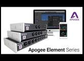 Apogee Element Series - Thunderbolt Audio Recording Interfaces