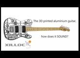 3d printed guitar: Heavy metal!