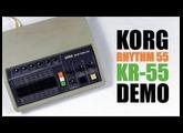 Korg Rhythm 55 KR-55 Demo