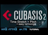 CUBASIS 2 Time-strech │ Remix with ease - haQ attaQ 176