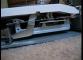 How hammer action keyboard works Alesis Fusion Disassambled