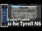 Friday Freebie: u-he Tyrell N6 Synth Plugin - SoundsAndGear.com