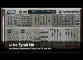 Free Synthesizer Plugin (PC/MAC) - u-he Tyrell N6