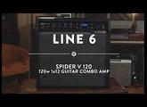 Line 6 Spider V 120 1x12 Guitar Combo Amp | Reverb Demo Video
