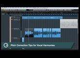 Cubase Quick Tips - Vocal Production - VariAudio Harmonies