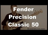 Basse Fender Precision Classic 50 - Review (Test)