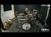Dave Weckl and the Zoom Q2n: Simple Groove #1