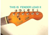 = This is Fender LEADII =   Its high-potential sounds !!