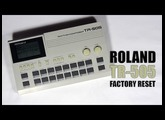 Roland TR-505 factory reset