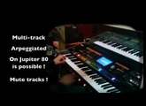 Oxygène 4 Jarre cover demo multi arpeggio on Jupiter 80. Download link is coming soon.