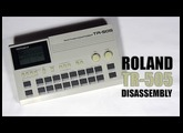Roland TR-505 Disassembly / Démontage : Tutorial