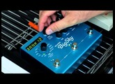Strymon BigSky Reverb Pedal on Roland TR-707 Drum Machine