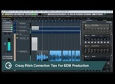 Cubase Quick Tips - Vocal Production - Pitch Correction Tips for EDM