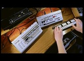 Roland TR-09, TB-03, VP-03 demo