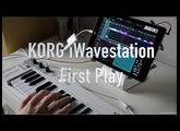 KORG iWavestation - First Play