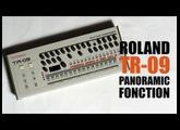 Roland TR-09 Panoramic / Panoramique : Tutorial