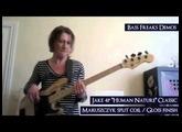 """(www.BassFreaks.net) Maruszczyk instruments : Jake 4P """"Human Nature"""" Classic"""