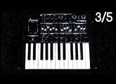 [3/5] Arturia MiniBrute TUTORIEL : LFO / Arpégiateur / Horloge MIDI