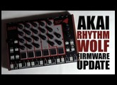 Akai Rhythm WOLF firmware update : Tutorial