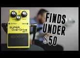 Finds Under $50 - Boss SD-1 [Bass Demo]