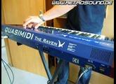Quasimidi  The Raven Max  Synthesizer  (1996)