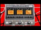 Zoom G3 demo Eddie Van Halen's Brown Sound