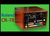 ROLAND CR-78 Analog Drum Machine 1978 | HD DEMO