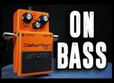 Boss DS-1 [Bass Demo]