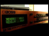 Boss GX-700 - Hall Reverbs
