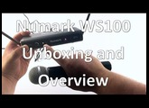Numark WS100 Wireless Microphone - Unboxing and Overview