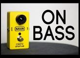 MXR Micro Chorus [Bass Demo]