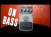 Behringer UO300 Ultra Octaver [Bass Demo]