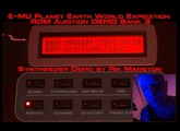 E-MU Planet Earth World Expedition Proteus 2000 ROM Audition DEMO Bank 3 PK-6 EMU