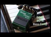 Stompbox Saturday No.70 : BOSS BC-1x (Compressor Pedal Demo & Review)