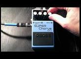 Boss Super Chorus (CH-1) Demo