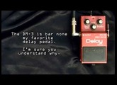 Vintage 1983 Boss DM-3 analog Delay effects pedal review. HD demo