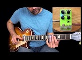 Les Paul Traditional in Open E Tuning w/ VL Effects Greentone