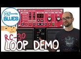 BOSS RC 30 Loop Station Guitar Demo