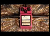 IBANEZ Analog Delay AD-9 Pedal Demo