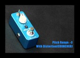Mooer Pitch Box micro compact pedal_Demo