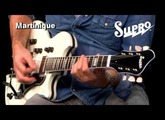 Supro Martinique Guitar Official Demo by Ford Thurston