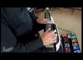 "Supro Jet Airliner Lap Steel Demo #3 ""Psychedelic Pink Floyd Sounds"" by Gary Morse"