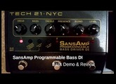 SansAmp Bass DI // Demo & Review
