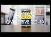 Boss Overdrive OD-1X (demo)