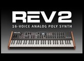 REV2  16-voice Analog Poly Synth- Official Intro